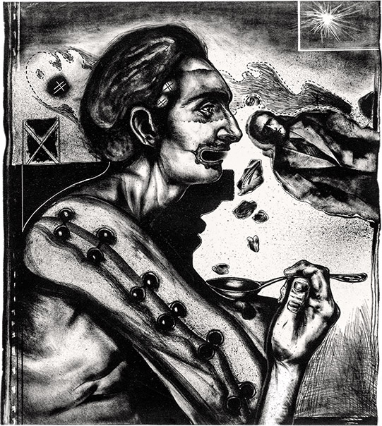 Pathological self-portrait , 1972